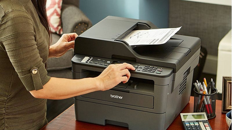 Brother MFCL2710DW Wireless Compact Laser Printer | $100 | Amazon