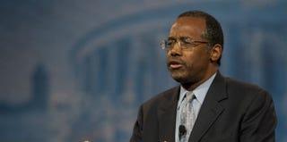 Dr. Ben Carson (Douglas Graham/Getty Images)