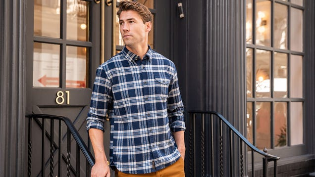 Stock Up on Essential Fall Flannels With 60% Off Jachs NY Premium Picks