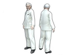 Illustration for article titled You've Got Colonel Sanders In My Phantasy Star Portable