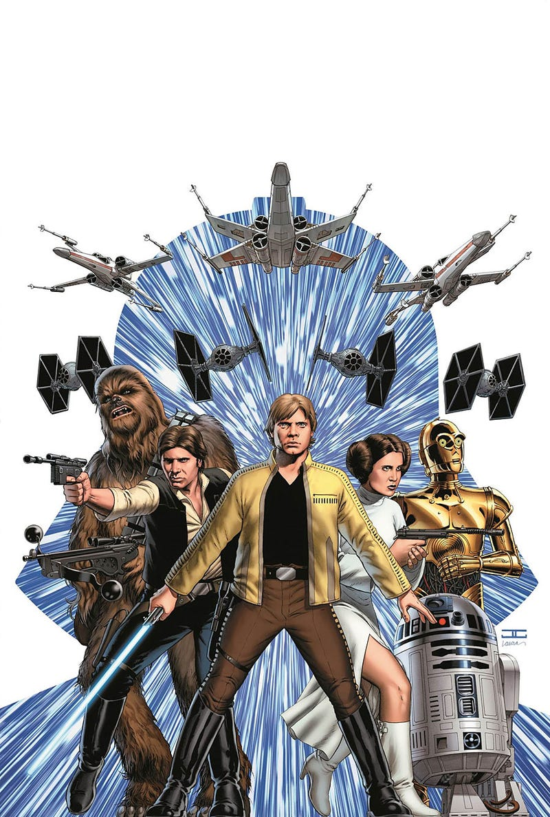 """Illustration for article titled """"Star Wars"""" #1 is F***ing Awesome"""