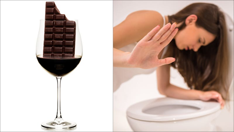 Illustration for article titled We still love you, Aldi, but chocolate wine is a hard pass