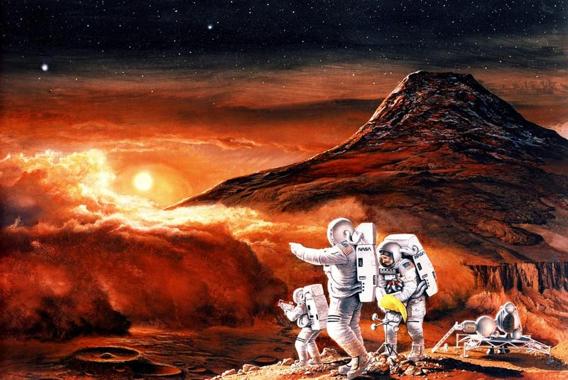 Illustration for article titled How a New Spacesuit Will Help Us Live on Mars