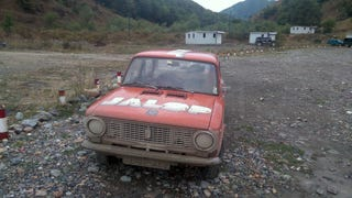Today We Enter 'No Man's Land' With Our Lada