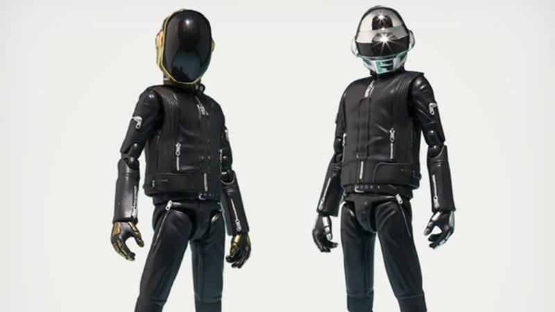 Illustration for article titled Daft Punk Action Figures: Get Bendy