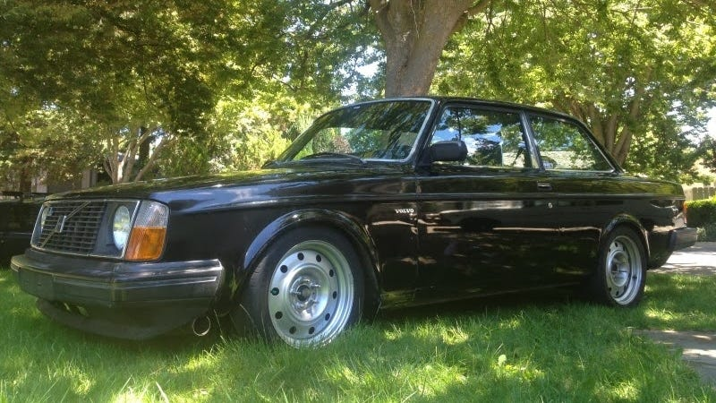 this unassuming volvo 242 is a 10 second drag strip terror. Black Bedroom Furniture Sets. Home Design Ideas