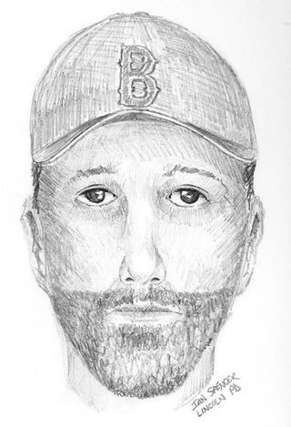 Illustration for article titled Massachusetts Police Seek White Man With Beard And Red Sox Cap