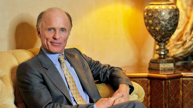 """Actor Ed Harris says the process of acting like a different person is """"honestly just plain silly."""""""