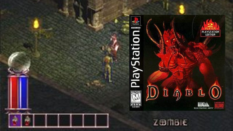 Illustration for article titled The First Time Diablo Came To Consoles