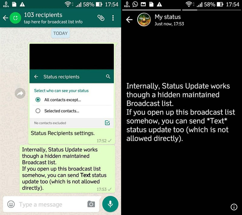 Whatsapp Status Así Funcionan Las Actualizaciones De Estado