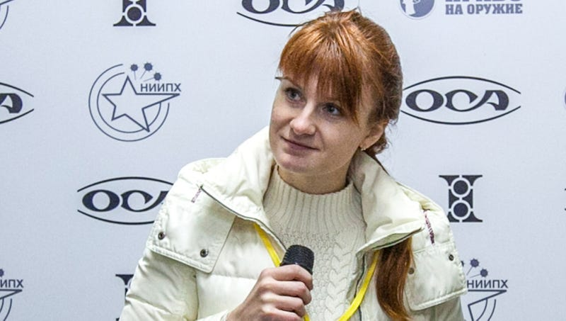 Illustration for article titled FBI Reveals Maria Butina Traded Sex In Exchange For All 62,984,828 Votes Trump Received In 2016