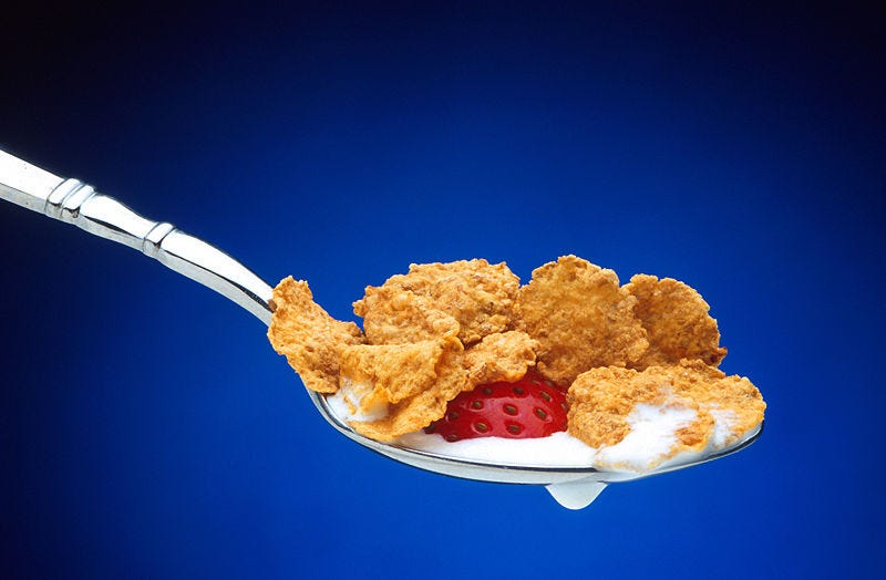 Illustration for article titled Manly Man Meals For Manly Men and Women: Cereal
