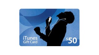 Illustration for article titled Give a $50 iTunes Gift Card for Just $40
