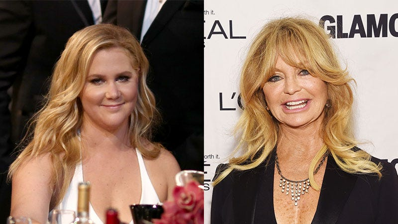 Illustration for article titled Goldie Hawn 'In Serious Talks' to Play Amy Schumer's Mother in Upcoming Comedy