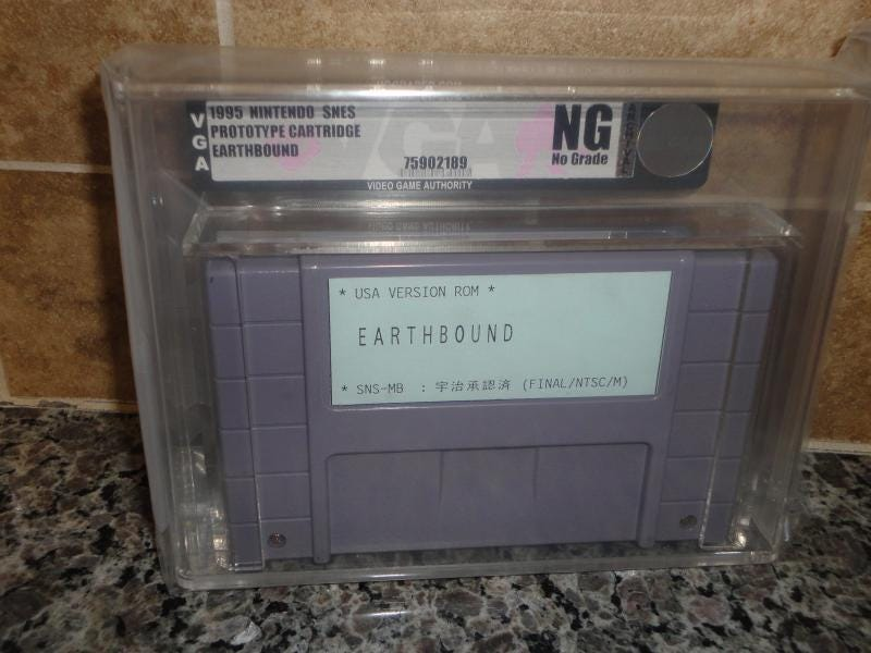 Illustration for article titled This Prototype Cartridge of EarthBound Can Be Yours for $15,000
