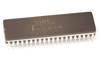 Illustration for article titled Intel 8088: The Chip That Gave Birth to the Borg