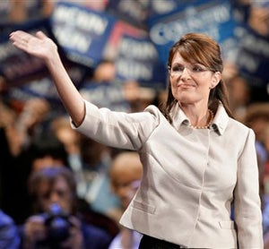 Illustration for article titled Conventional Crap: Vice-Presidential Viagra? Palin Stiffens The Dick Of The RNC