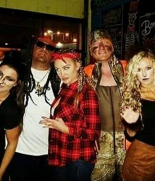 Jason Aldean (second from left) and friendsTwitter