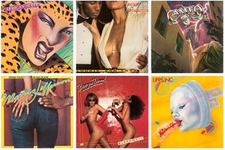 Illustration for article titled 7 Pieces of Album Art From the Golden Age of Disco Design
