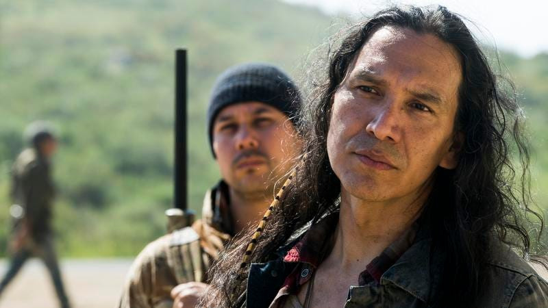 Michael Greyeyes as Qaletaqa Walker (Photo: Richard Foreman Jr./AMC)