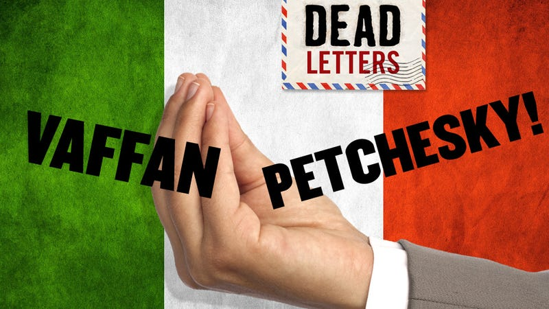 Illustration for article titled Dead Letters: Italy Unifies And Declares War On Barry Petchesky