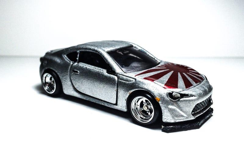 Illustration for article titled Lald Car Week: Chromed GT86