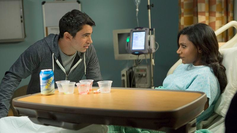 """Illustration for article titled The Mindy Project: """"I Slipped"""""""