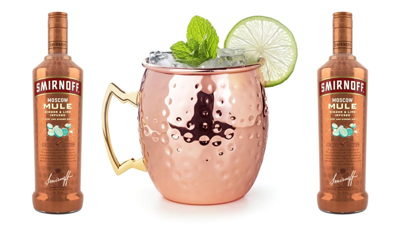 Illustration for article titled Moscow Mule vodka saves you approximately 4 seconds in your Mule-making