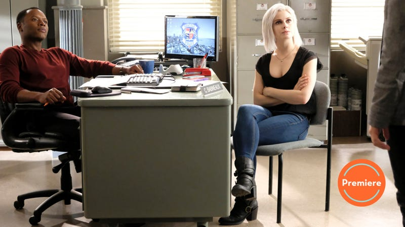 iZombie returns for its final season, not with a figurative bang but