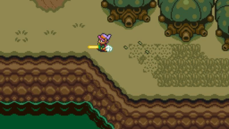 Screenshot: The Legend Of Zelda: A Link To The Past