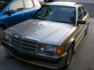 Illustration for article titled Buy A Mercedes 190E 2.3-16 And Put A Little Herr On Your Chest