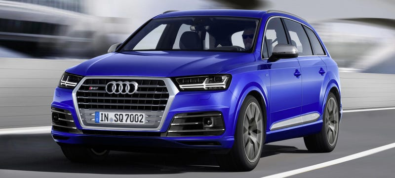 Illustration for article titled Audi's New V8 Is A Diesel With 663 LB-FT Of Torque And Zero Turbo Lag