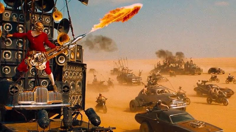 Illustration for article titled National Board Of Review declares Mad Max: Fury Road totally kickass