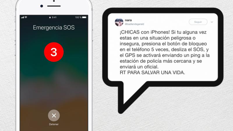Illustration for article titled Un viral falso y peligroso: el iPhone nunca envía tu ubicación a la policía cuando activas el modo emergencia
