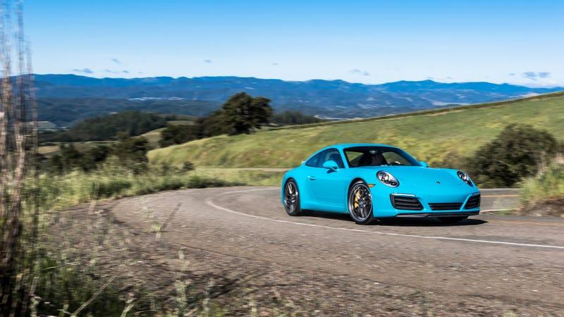 The 2017 Porsche 911 Carrera S. Image via Porsche