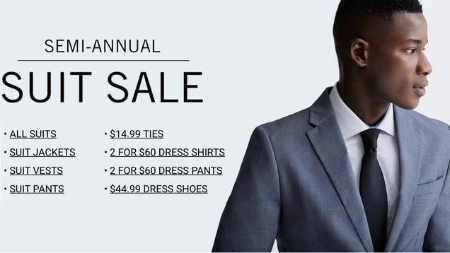 ea565cc408f1 Get Ready For Wedding Season With The Perry Ellis Semi-Annual Suit Sale  [Update: Extra 10% Off]