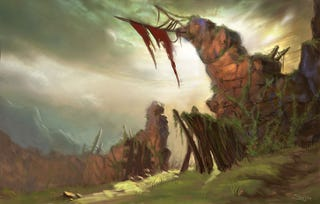 Illustration for article titled Art Apocalypse: Blizzard's Wilson Talks Diablo III Design Decisions