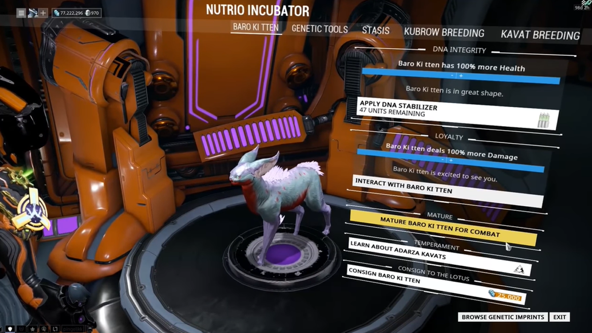 Warframe Removed A Microtransaction Because A Player Used It