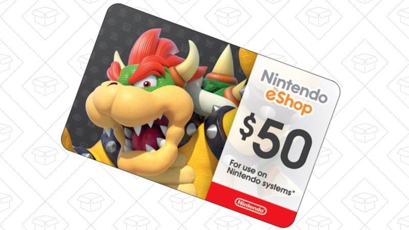 $50 Nintendo eShop Gift Card, $45