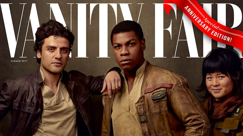 Vanity Fair reveals 4 new covers for 'Star Wars: The Last Jedi'