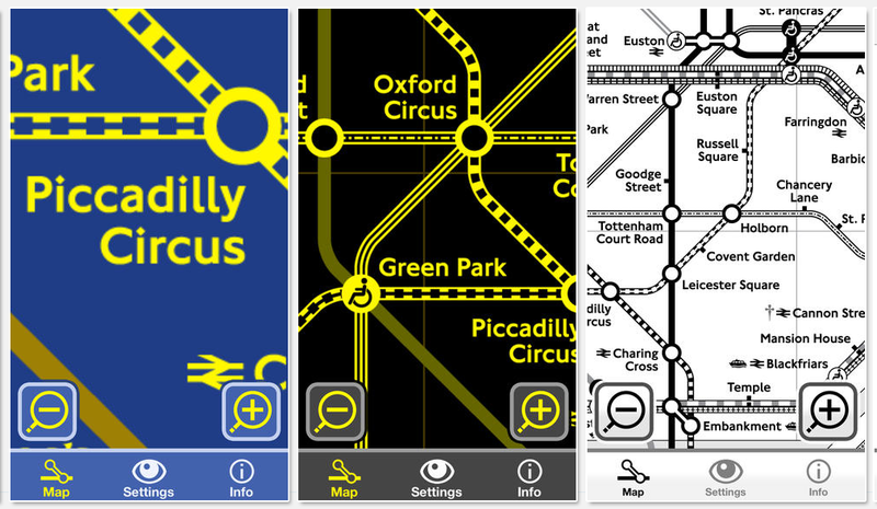 Illustration for article titled This London Tube Map Is Designed For Colorblind Travelers