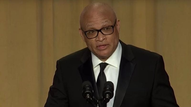 Illustration for article titled White House confirms Larry Wilmore's Correspondents' Dinner speech was funny