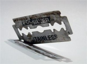 Illustration for article titled Clean your windshield with a razor blade