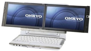 Illustration for article titled Onkyo DX Laptop Gives You Two Screens for Under $1000