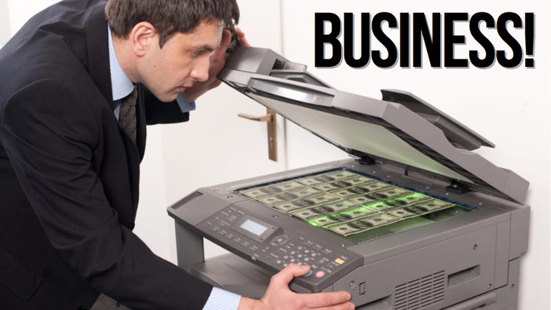 Illustration for article titled This Week in the Business: It (Doesn't) Print Money ...