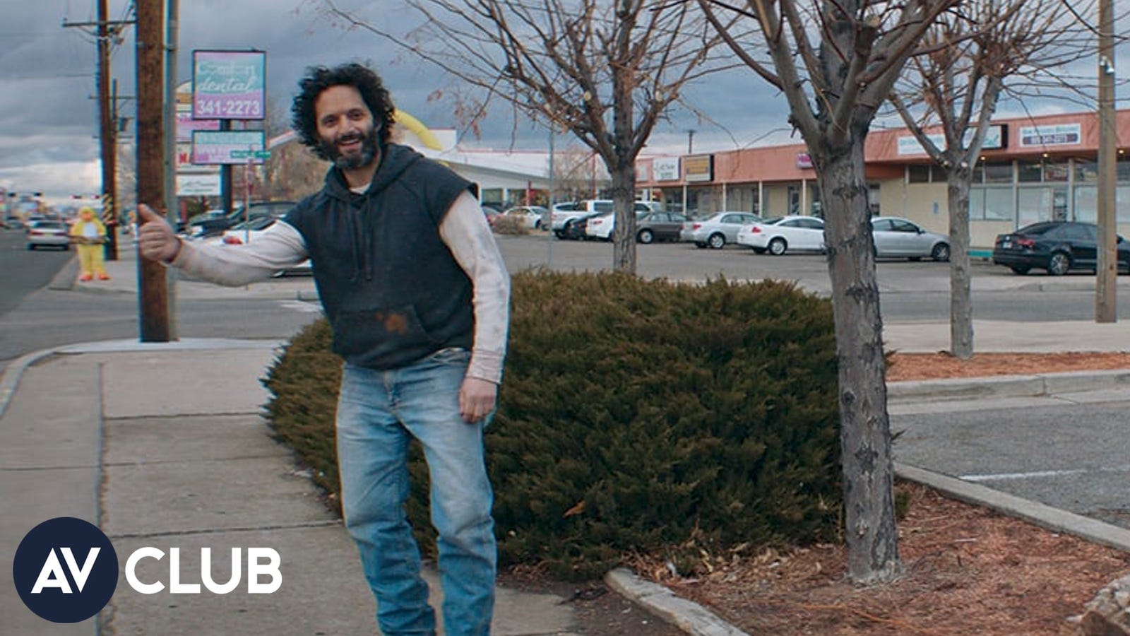 To no one's surprise, Jason Mantzoukas was making everyone break on the set of his new movie