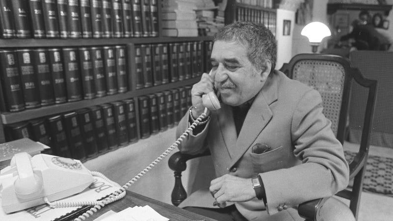 El escritor Gabriel García Márquez en una fotografía de archivo