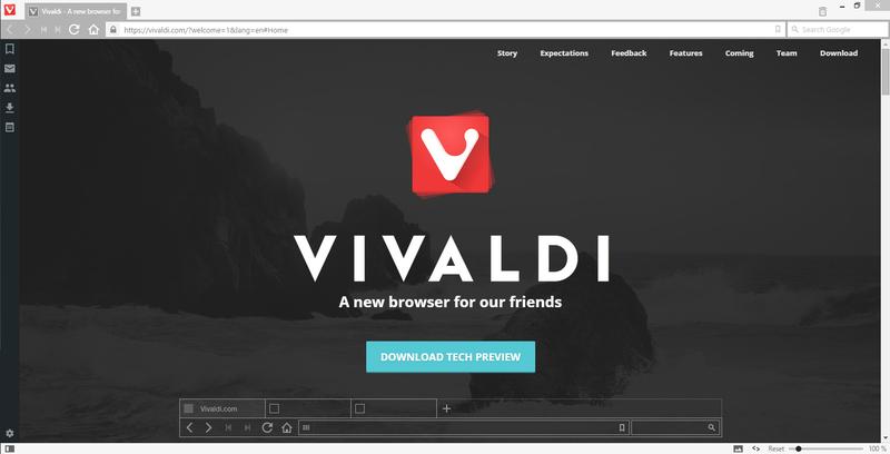Vivaldi Browser: a Quick Look at the Opera Successor