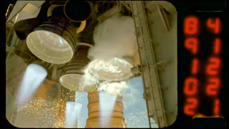 Illustration for article titled A Space Shuttle Launch In Amazing HD Slow Motion