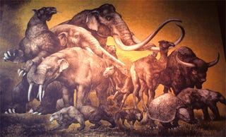 Illustration for article titled How much did the Pleistocene extinctions hurt nutrient flow?